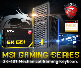 MSI GK-601 Mechanical Gaming Keyboard
