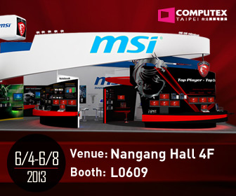 MSI at COMPUTEX 2013