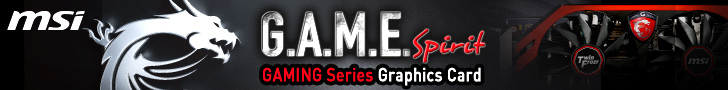 MSI Gaming series graphics cards