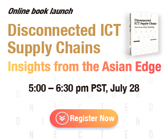 Online book launch: Disconnected ICT Supply Chains